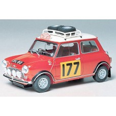 Tamiya Mini Cooper 1275S Rally Kit C-448 1:24 Scale Sports Car # 24048